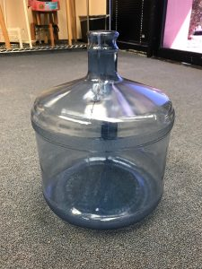 3 Gallon Water Bottle - Aquarium Water Delivery